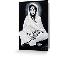 Anandamayi Ma Greeting Card
