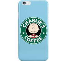 Charlie Brown Starbucks iPhone Case/Skin