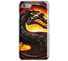 Mortal Kombat logo iPhone Case/Skin