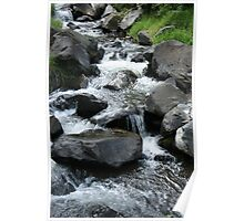 Whitewater Rapids at the Peguche Falls Poster