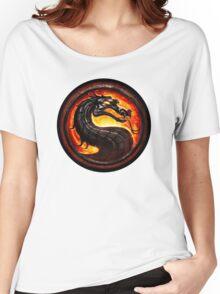 Mortal Kombat logo Women's Relaxed Fit T-Shirt