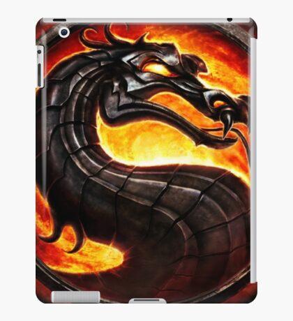 Mortal Kombat logo iPad Case/Skin