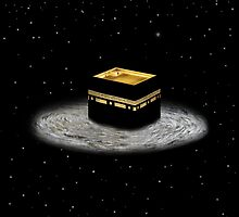 Kaaba Stars prints, cards, posters, iPad and iPhone case by Fangpunk