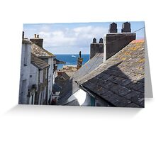 st isaac rooftops Greeting Card