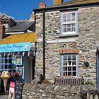 tea shop in st isaac by Anne Scantlebury
