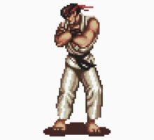 Ryu Victory Pose Street Fighter One Piece - Short Sleeve