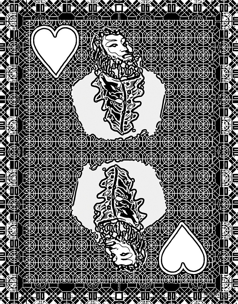 Simple King of Hearts by RonMock