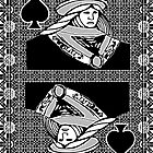 Simple Queen of Spades by RonMock