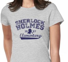 Holmes Elementary - Dark Text Womens Fitted T-Shirt