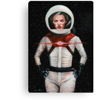 Space-Bacall Canvas Print