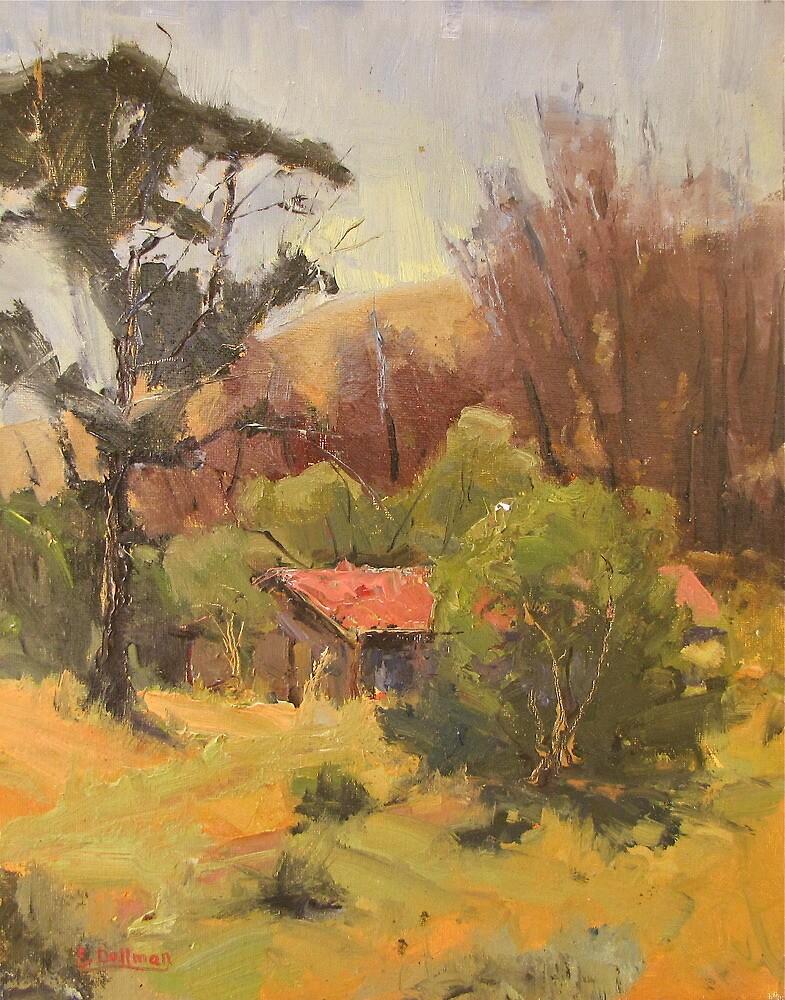 Hilltop Barn by erniedollman