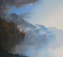 Blue Haze by Sharon Ellem-Bell