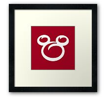 Hey Mickey Framed Print