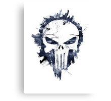 The Punisher Skull Logo Canvas Print