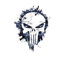 The Punisher Skull Logo Photographic Print