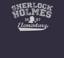 Holmes Elementary - Light Text Womens Fitted T-Shirt