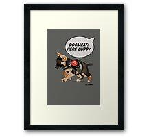 Dogmeat Framed Print