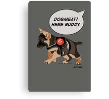 Dogmeat Canvas Print