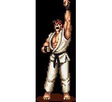 Ryu Victory Pose Street Fighter Photographic Print