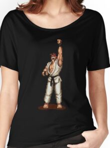 Ryu Victory Pose Street Fighter Women's Relaxed Fit T-Shirt