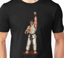 Ryu Victory Pose Street Fighter Unisex T-Shirt