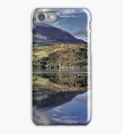 Quinag Reflecting, Sutherland, Scotland iPhone Case/Skin