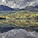 Quinag Reflecting, Sutherland, Scotland by David Alexander Elder