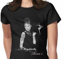 Breakfast at Tiffany's Tattoo parlour Womens Fitted T-Shirt