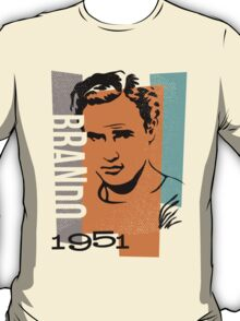 Original Graphic Design Portrait of Marlon Brando T-Shirt