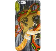 Snake with Skull iPhone Case/Skin