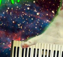 FRAN - SWEET KEYBOARD CAT Sticker