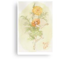 Flower Fairy - Merry Gold Canvas Print