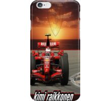 Kimi Raikkonen iPhone Case/Skin