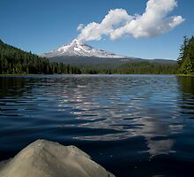 Trillium Lake by TeresaB
