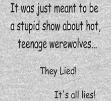 Just a stupid show about werewolves by mjriley