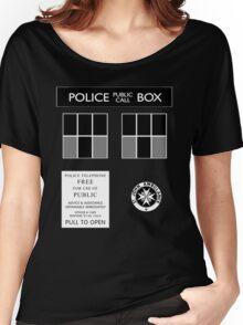 TARDIS Tee Women's Relaxed Fit T-Shirt