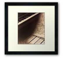 Saloon Piano Framed Print