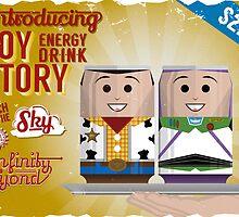 Toy Story Soda Cans by oneskillwonder