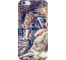 Woolshed Calendar 5 iPhone Case/Skin