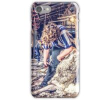 Woolshed Calendar 5 iPhone Case/Skin