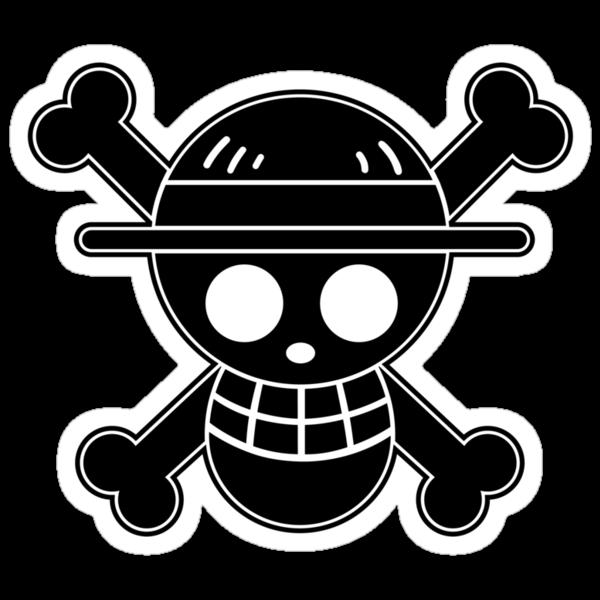Luffy - OP Pirate Flags by Natasha Curran