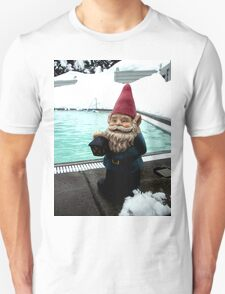 Snow Pool Gnome Unisex T-Shirt