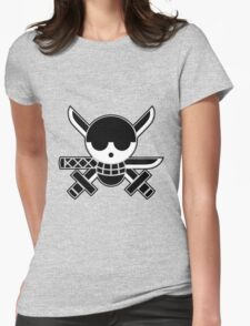 Zoro - OP Pirate Flags Womens Fitted T-Shirt