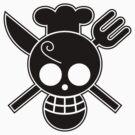 Sanji - OP Pirate Flags by Natasha Curran