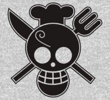 Sanji - OP Pirate Flags Kids Clothes