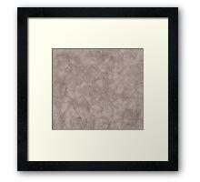 Spotty Parchment Framed Print