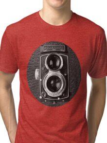 ❀◕‿◕❀ROLLEICORD CAMERA UNISEX TEE SHIRT❀◕‿◕❀ Tri-blend T-Shirt