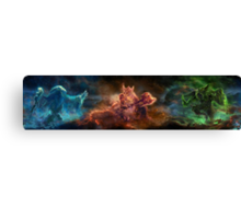 Skyrim Constellation Canvas Print