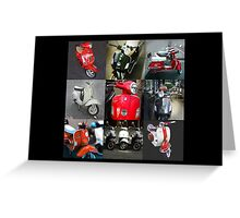Vespa Love Greeting Card