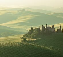 Tuscan Tranquillity by lindy sherwell